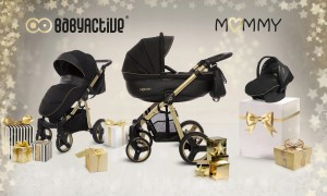 Babyactive Gold Magic Wózek 2w1